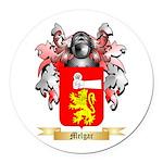 Melgar Round Car Magnet