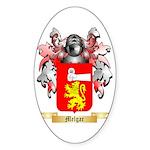 Melgar Sticker (Oval 50 pk)
