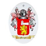 Melgar Oval Ornament