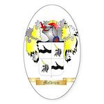 Meldrum Sticker (Oval)