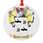 Meldrome Round Ornament