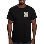 Meldrom Men's Fitted T-Shirt (dark)