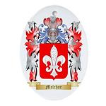 Melchor Oval Ornament