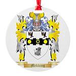 Mekking Round Ornament