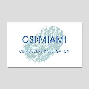 CSI:MIAMI Car Magnet 20 x 12