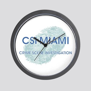 CSI:MIAMI Wall Clock