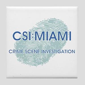 CSI:MIAMI Tile Coaster