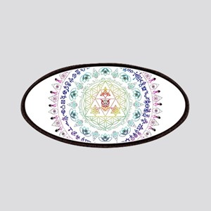 Everything Mandala - flower of life, owl, lotus, p