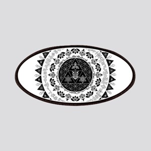 Reverse Everything Mandala Patch