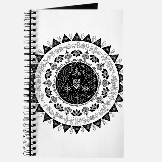 Reverse Everything Mandala Journal