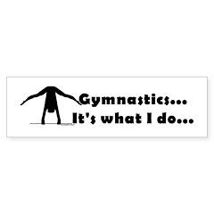 Gymnastics Bumper Sticker - Do