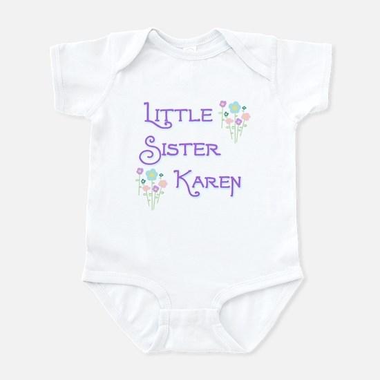 Little Sister Karen Infant Bodysuit