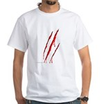 Clawed to Death White T-Shirt