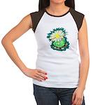 Desert Cactus Women's Cap Sleeve T-Shirt