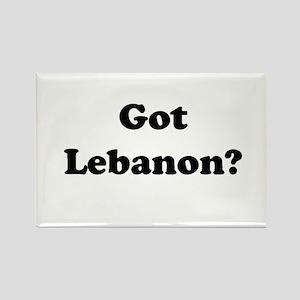 Got Lebanon Rectangle Magnet