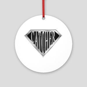 SuperCatcher(metal) Ornament (Round)