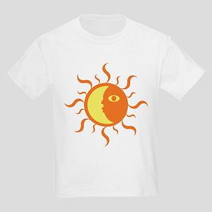 Sun/Moon-Yin/Yang Kids T-Shirt