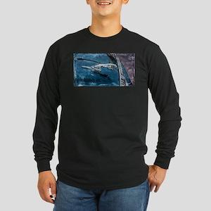 Jaguar Hood Ornament Long Sleeve T-Shirt