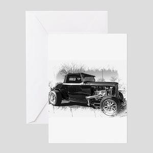 1932 Ford Hiboy Roadster Greeting Card