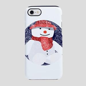 Little snowman iPhone 8/7 Tough Case