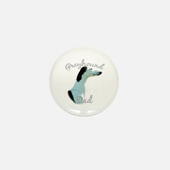 Greyhound Dads2 Mini Button