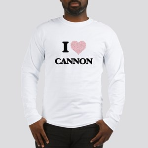 I Love Cannon Long Sleeve T-Shirt