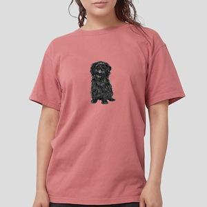 Affenpinscher (black) Womens Comfort Colors Shirt