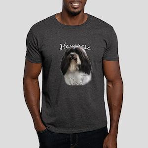 Havanese Dad2 Dark T-Shirt