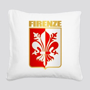 Firenze Square Canvas Pillow
