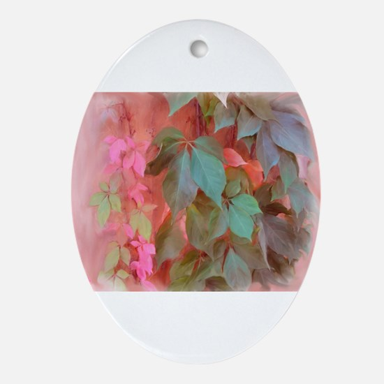 Napa Ivy Oval Ornament