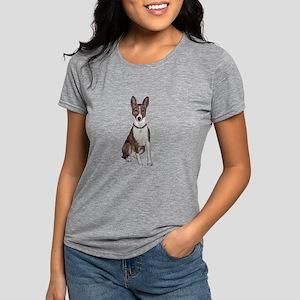 Basenji (brindle) Womens Tri-blend T-Shirt