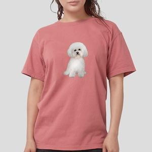 Bichon Frise (#2) Womens Comfort Colors Shirt