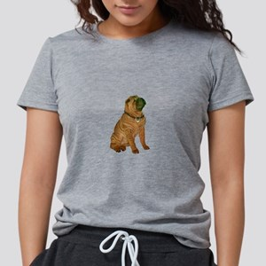 Chinese Shar Pei (J) Womens Tri-blend T-Shirt