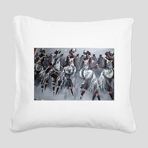 Women Power Square Canvas Pillow