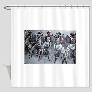 Women Power Shower Curtain