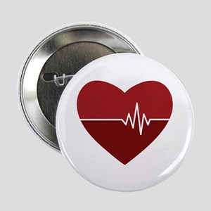 "Heartbeat 2.25"" Button (10 pack)"