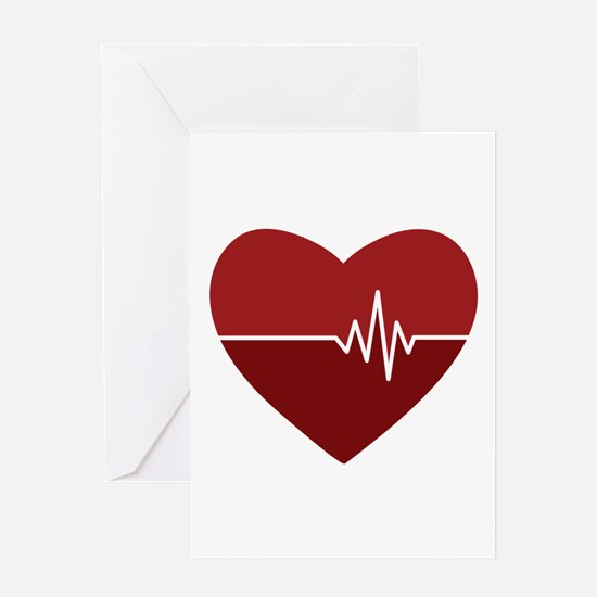 Heartbeat Greeting Cards