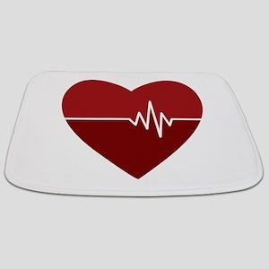 Heartbeat Bathmat
