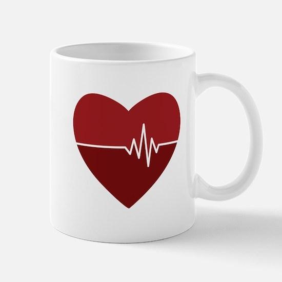 Heartbeat Mugs