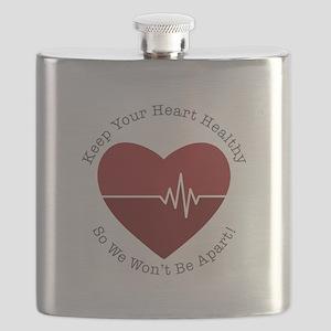 Keep Heart Healthy Flask