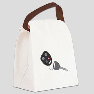 Car Key Canvas Lunch Bag