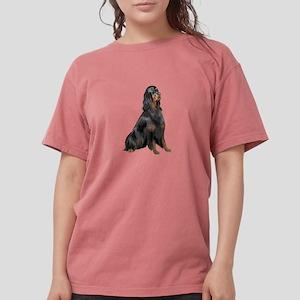 Gordon Setter Womens Comfort Colors Shirt