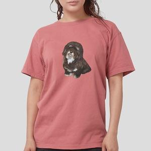 HAVANESE - Brn-blk Womens Comfort Colors Shirt