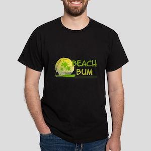 Beach-Bum Dark T-Shirt