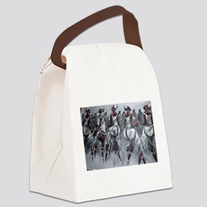 Women Power Canvas Lunch Bag