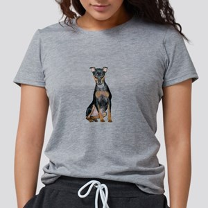 MiniaturePinscher Womens Tri-blend T-Shirt