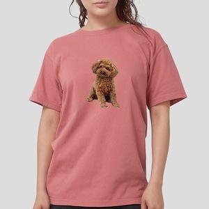 Poodle (toy-Min-Apric.) Womens Comfort Colors Shir