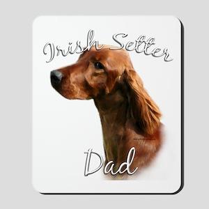 Irish Setter Dad2 Mousepad
