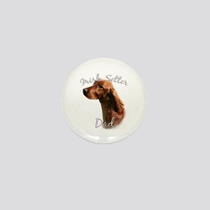 Irish Setter Dad2 Mini Button
