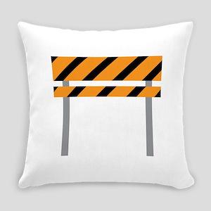 Road Barricade Everyday Pillow